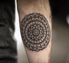 Mandala Forearm Tattoo Designs has been taken the world of tattoos by storm. Those who are yoga practitioners and focus on the Anuttarayoga tantra mainly we Forearm Band Tattoos, Outer Forearm Tattoo, Knee Tattoo, Forearm Tattoo Design, Mandala Tattoo Design, Cool Small Tattoos, Small Tattoos For Guys, Small Geometric Tattoo, Best Sleeve Tattoos