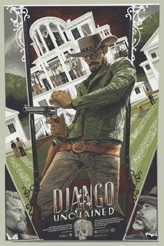 Very excited to have nabbed this Django Unchained @MondoTees poster last night during the Oscars.