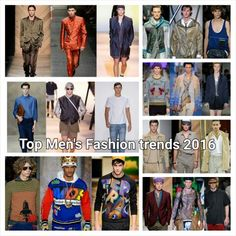 As a stylist watching so of the hottest looks hit the runway can be excited but as we all know some of the looks are not as streetstyle friendly as we like or even speak to the masses so I have comb threw tons of runway shows and PRESENT THE MOST TRENDY LOOKS ANY MAN CAN PULL OFF FOR 2016 here is is the list of the top menswear fashion trends to look for in 2016 http://www.examiner.com/article/top-men-s-fashion-trends-for-spring-summer-2016