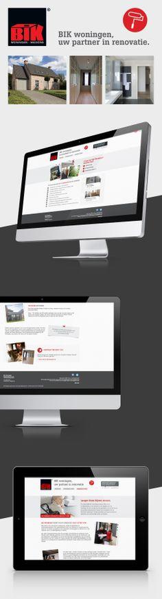 Website voor BIK Renovatie - Bekijk deze website op www.bikreno.be