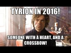 Draft The Dwarf in 2016! Tyrion for U. S. president!
