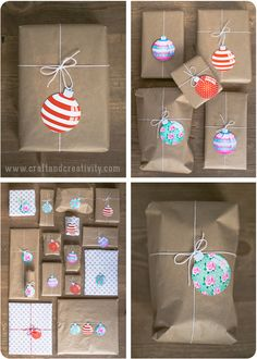 Free Printable Christmas Tags - by Craft & Creativity
