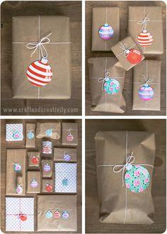 Free Printable Christmas Tags - by Craft & Creativity