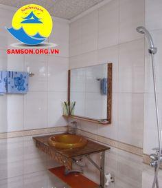 phòng tắm tại khách sạn thái lan sầm sơn