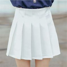 simple pleated skirt| discount: okaywowcool  kawaii pastel neogal hipster pastel grunge fachin skirt bottoms discount storenvy cutey