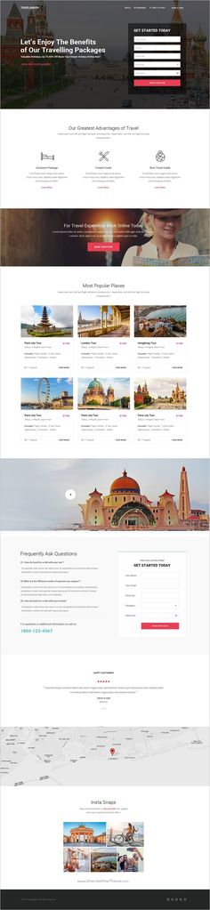Truelander is a wonderful collection of 15 #Photshop template for #travel #agency stunning landing page websites download now➩ https://themeforest.net/item/truelander-multipurpose-psd-landing-pages-kit/19191158?ref=Datasata