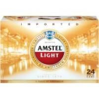 Amstel Light, 24 Bottles - 12OZ Each