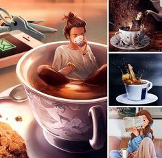 Beautiful Words, Chocolate Fondue, Tea, Coffee, Desserts, Food, Creative, Kaffee, Tailgate Desserts