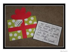 The Polar Express is my favorite Christmas read aloud and this is the PERFECT writing craftivity to go with it!