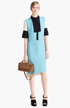 Marni Colorblock Organza Dress available at #Nordstrom