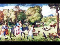 Библейские сюжеты в живописи. Тициан. Бегство в Египет