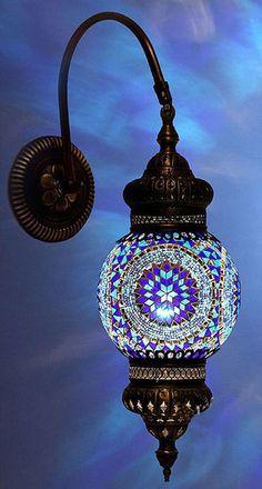 Lámpara mosaico ...