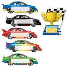 Editable racing car templates (SB7756)   SparkleBox | Kiddo