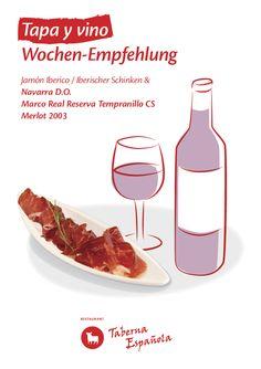Tapas y vino  Wochen-Empfehlung Tapas, Restaurant, Mediterranean Kitchen, Restaurants, Dining Room