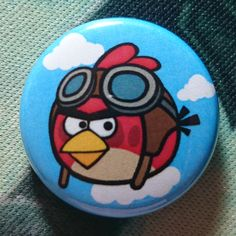 """Button Badge """"Angry Birds"""""""
