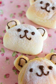 ミルク餅くまくまパン|レシピブログ