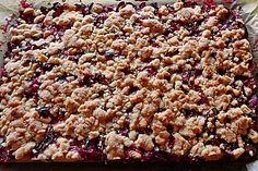 Omas Streusel - Zwetschgenkuchen mit Mürbteig