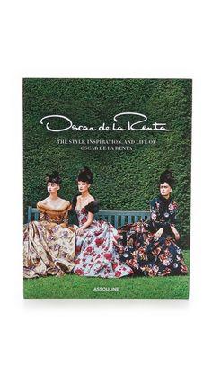 Oscar de la Renta coffee table book.