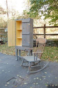 Repurposed Ammo Box Handmade Cabinet
