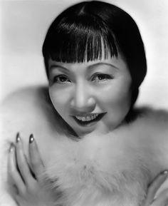 Anna May Wong -1905 -1961- First Chinese American Actress. Description from pinterest.com. I searched for this on bing.com/images