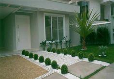 greenery und neutral im vorgarten