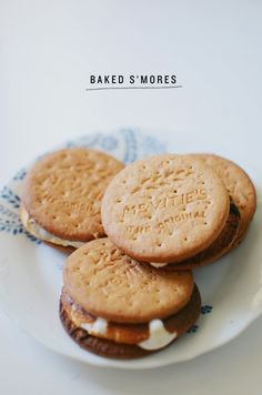 baked s'mores | cakies