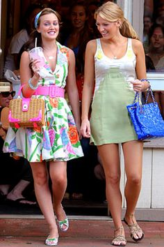 gossip girl i love Blairs outfit!