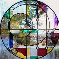 Resultado de imagen de stained glass circle lamps
