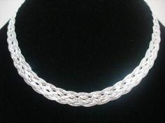 2108e93b252  br Corrente prata 925 com 6 fios trancados