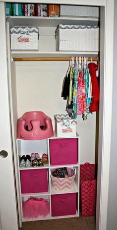 Interior, : Magnificent Baby Closet Organizer Design Ideas With Light Oak Wood Cloth Hanger Including White Wicker Cloth Box Storage And White Door Closet