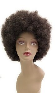 Afro Synthetic Wig at Elise Beauty Supply. Promotion code SAVE10. Big curly afro wig.