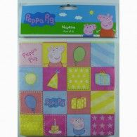 16 x Peppa Pig Birthday Party Paper Napkins Serviettes Supplies Pepper Wholesale Party Supplies, Discount Party Supplies, Printed Balloons, Pig Party, Party Napkins, Peppa Pig, Birthday Parties, Pig Birthday, Happy Birthday