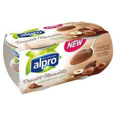 Alpro Dessert Moments Hazelnut Chocolate 4X125g - Groceries - Tesco Groceries