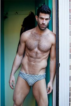 #Hairy Josh Owens Shirtless by Wadley Photography #shirtless #hunk