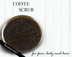 Coffee is an amazing beverage but limiting it just as a beverage is not a good idea. Coffee is not... #scalpdetoxdeadskin