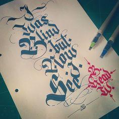 Random Calligraphys on Behance