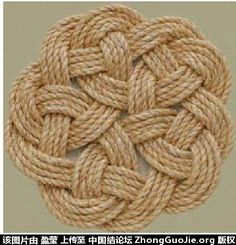 Eternity Knot used to make coaster