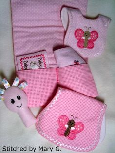 Baby Doll Diapering Set