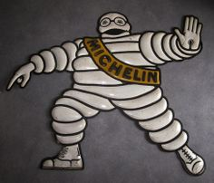 Vintage Michelin Sign