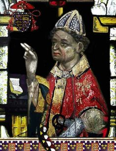 Henry Beaufort, Cardinal Bishop of Winchester. My 19th great grandfather.