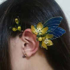 Nail Polish Flowers, Nail Polish Jewelry, Resin Jewelry, Jewelry Crafts, Wire Flowers, Fabric Flowers, Jewelry Accessories, Jewelry Design, Shrink Art