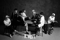 BTS catch eyes with their black-and-white pictorial for 'K-Wave' | allkpop