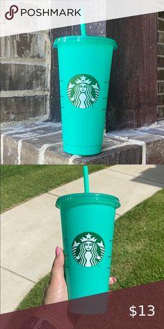 :US Shipping Starbucks JAPAN 16oz Midnight Blue Cork Design Tumbler w// Straw