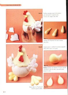 STEP BY STEP HEN AND CHICKS PART N°3.