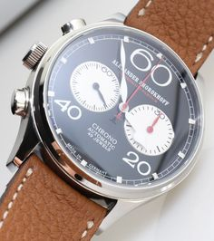 ABlogToWatch: Alexander Shorokhoff Avantgarde Lefthanders' Automatic Chronograph Watch