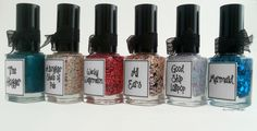 :: whimsical nail polish by pam ::   summer collection 2014