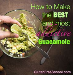 Gluten Free Guacamole Recipe. Crack-amole! Read NOW and make the best guac you've ever had!