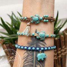 hand made boho jewelry, boho bracelets, boho style, bohemian, stone jewelry, friendship bracelets