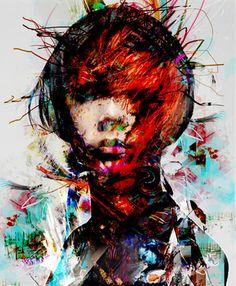 """Saatchi Online Artist yossi kotler; Mixed Media, """"point of viiew"""" #art"""