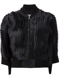 Shop Comme Des Garçons Noir Kei Ninomiya pleated bomber jacket in Kasuri from the world's best independent boutiques at farfetch.com. Over 1500 brands from 300 boutiques in one website.